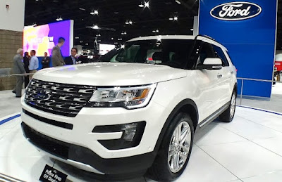 Ford Explorer Colors: ruby red, smoked quartz, oxford white
