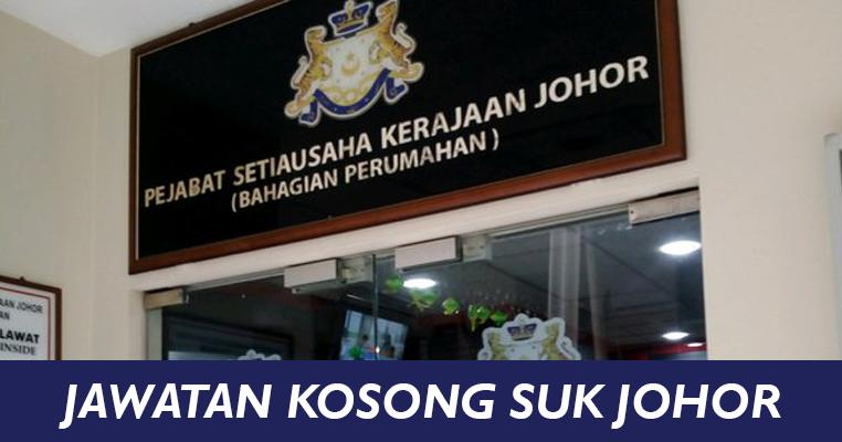 Jawatan Kosong Di Pejabat Setiausaha Kerajaan Negeri Johor Jobcari Com Jawatan Kosong Terkini