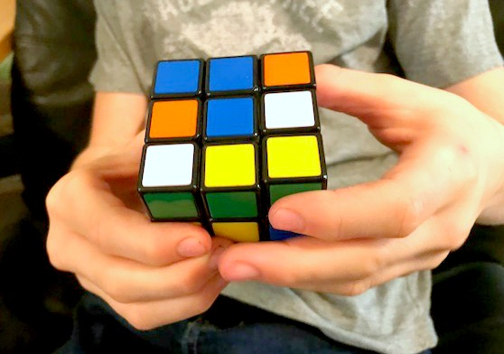 solving a rubiks cube