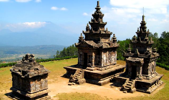 Wisata Candi Gedong Songo Semarang Jawa Tengah