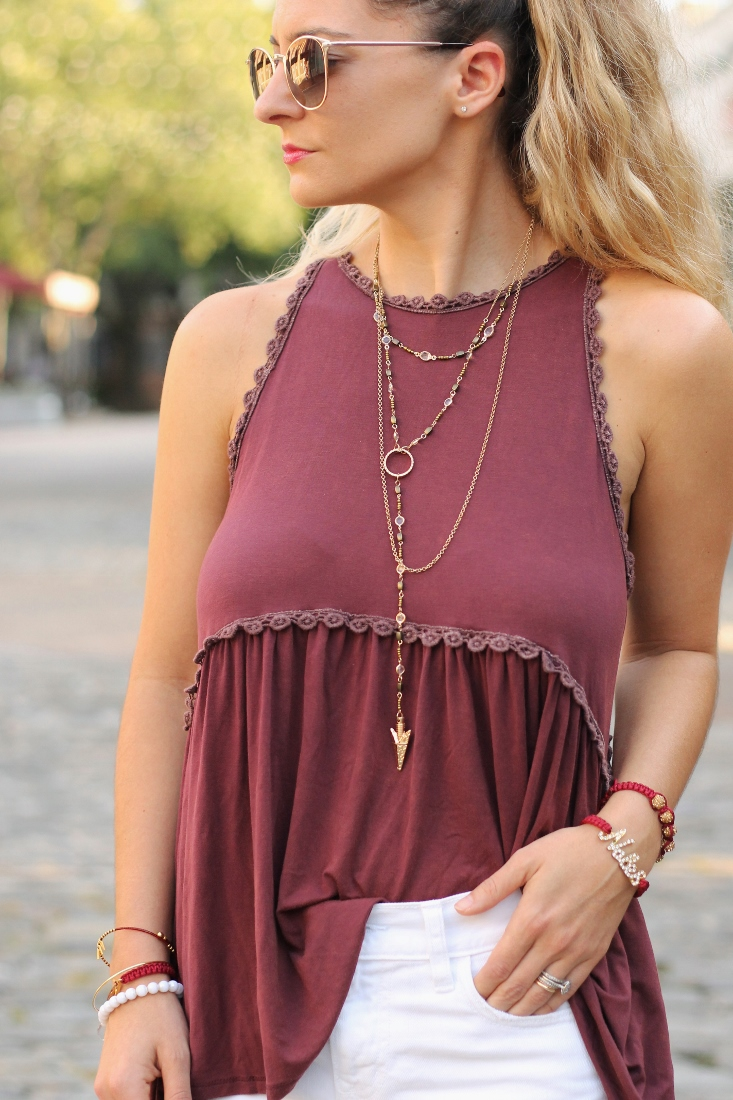 Garnet and Gold Trending Now Boutique Tallahassee FL Game day outfit idea
