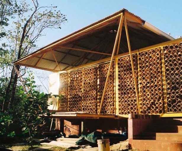 Desain Rumah Bambu Modern Ramah Lingkungan & Desain Rumah Bambu Modern Ramah Lingkungan - Desainrumahkeren.com ...