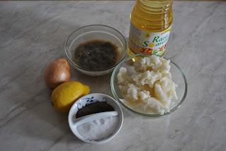 ingrediente salata de icre