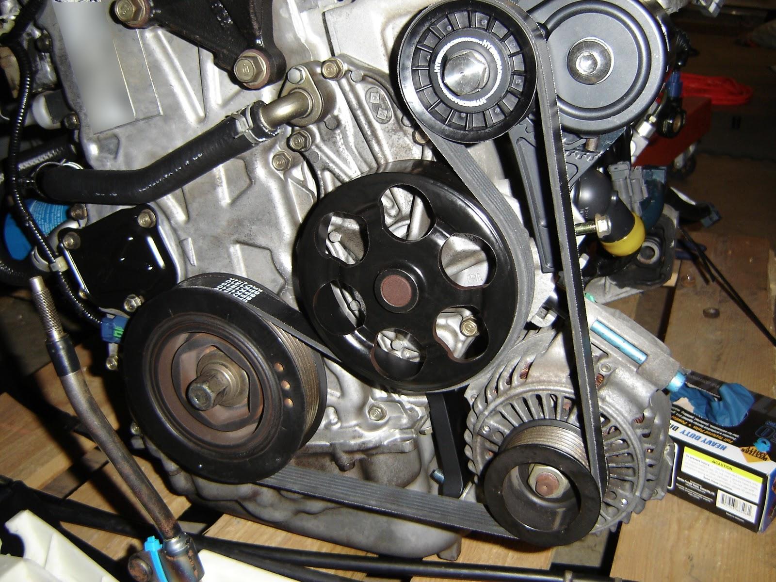 Dsc on 1998 Honda Civic Alternator Belt
