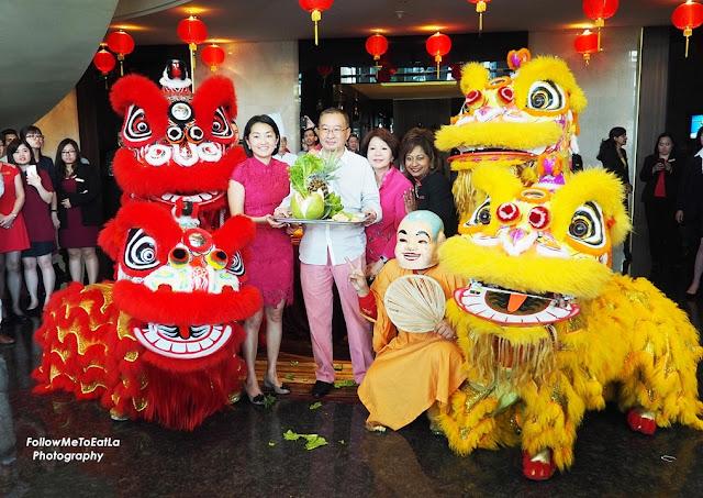 General Manager of Eastin Hotel Kuala Lumpur, Ms. Jane Suppiah, Executive Chairman, Dato' Tan Chew Piau & Directors