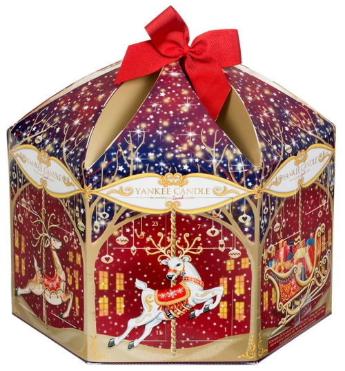 Yankee Candle Advent calendar carousel 2015