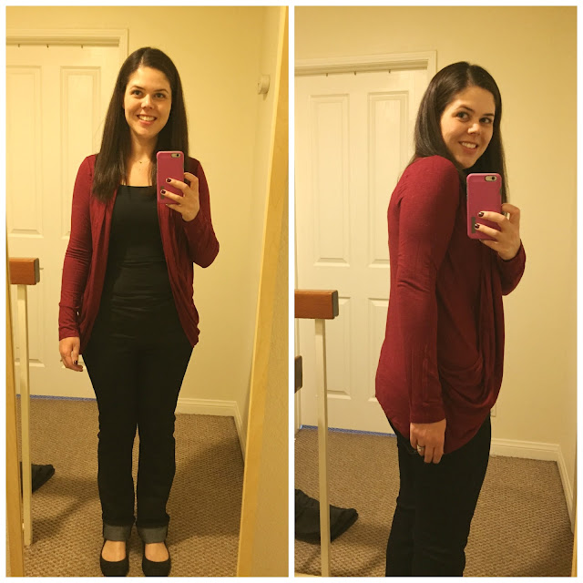 [Stitch Fix] Pixley Martina Slub Knit Open Cardigan