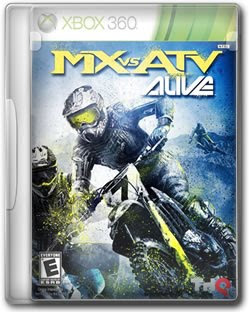 MX Vs ATV Alive   XBOX 360 Region Free