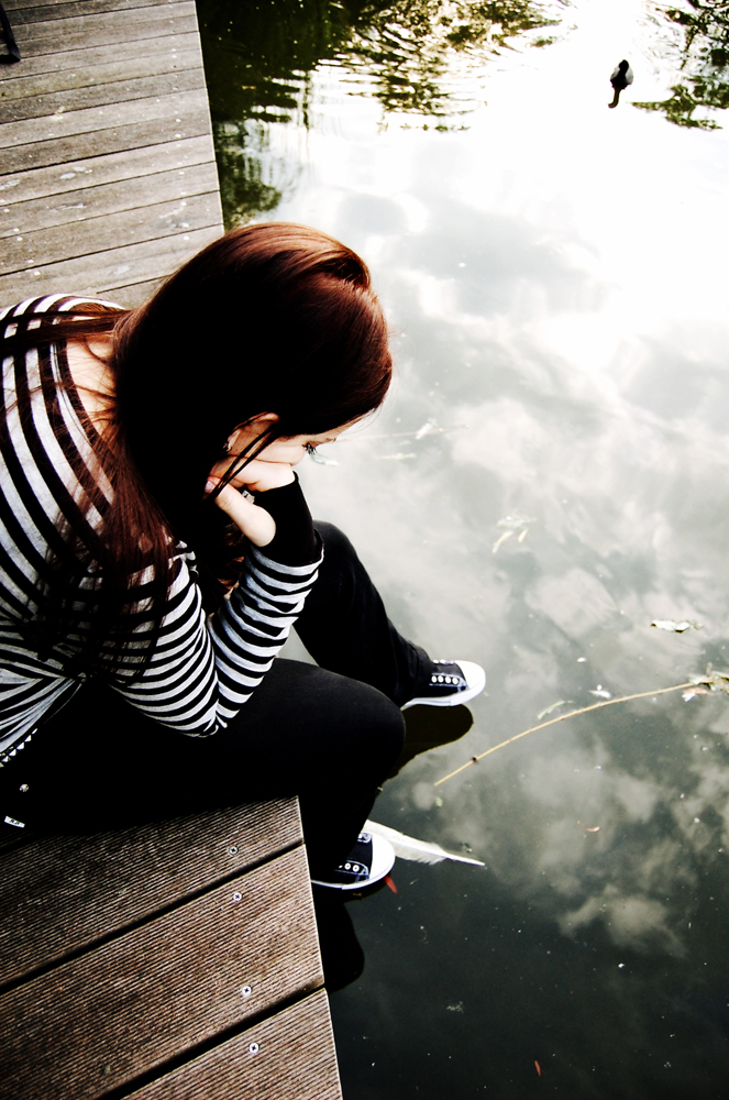 Sad Emo Girl Wallpaper Lonely Iphone Wallpapers I M So Lonely