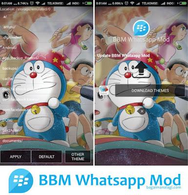 BBM Mod Doraemon v.2.11.0.8 APK