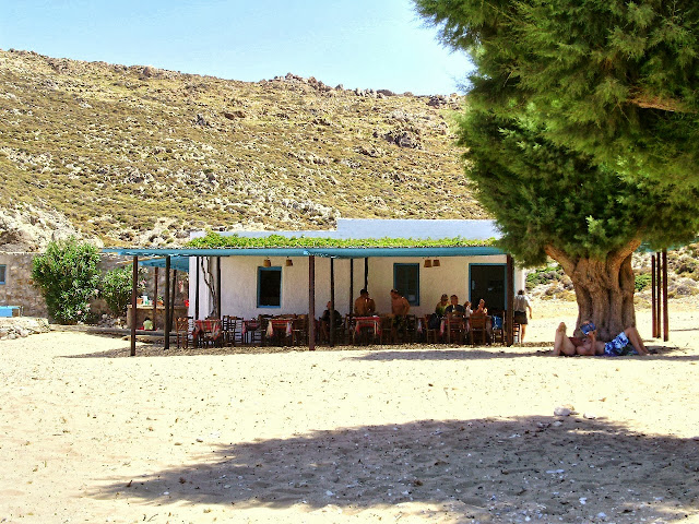 Psili Ammos Beach, Patmos -Photo Wanda Benati ©