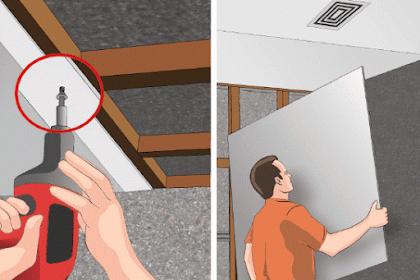 Ulas Tuntas Kelebihan Gipsum Board - Pemasangan