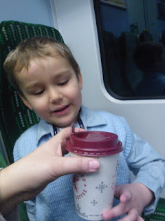 Big Boy with a Cup of wee...