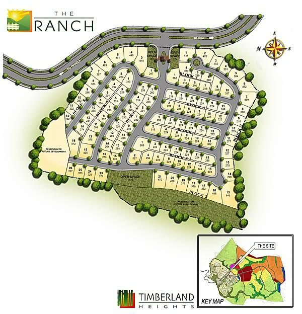 The Ranch at Timberland Heights Quezon City Environs Site Development Map c0dad241eb