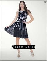 Catalogo de vestidos casual  liz minelli noviembre  2017