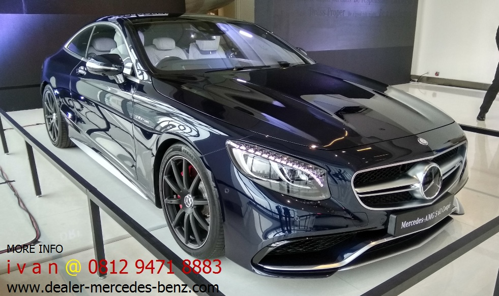 Promo Mercedes Benz S Class S63 Amg Coupe 2016 Indonesia