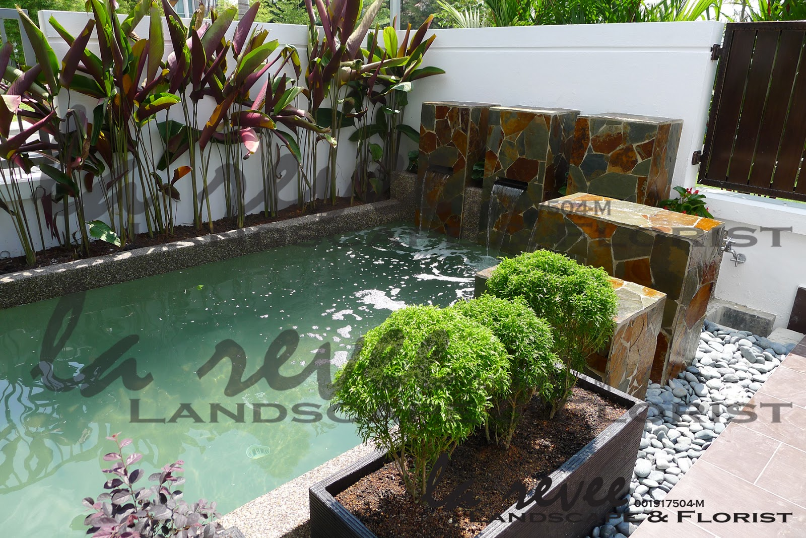 Professional koi pond and landscape contractor for Koi pond modern
