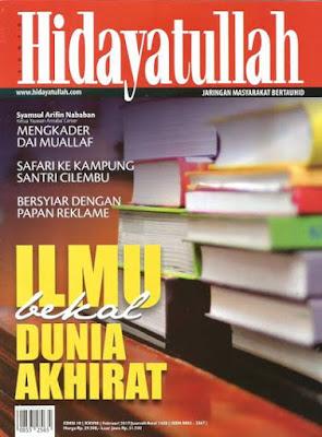 Majalah Hidayatullah Edisi Pebruari 2017