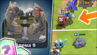 Nova arena falsa no Clash Royale