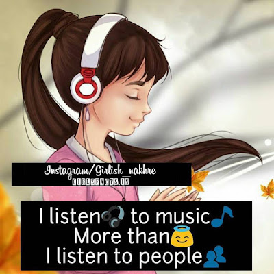 I listen to music More than  I listen to people