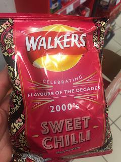 Walkers Crisps Sweet Chilli - 2000's