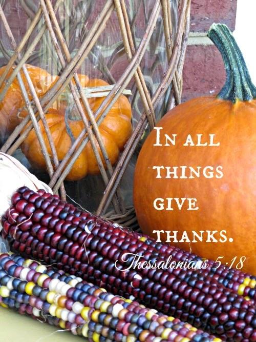 Pine Cones And Acorns Happy Thanksgiving