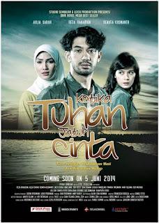 Download film Ketika Tuhan Jatuh Cinta (2014) WEB-DL Gratis