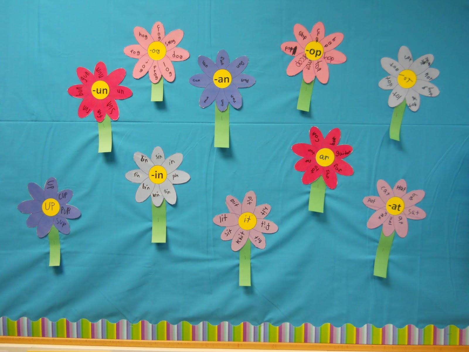 Mizell Multiage Cute Spring Bulletin Board Idea