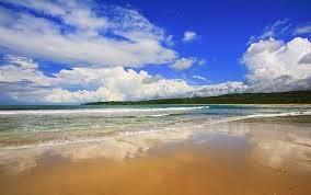 Pantai Ciantir Sawarna Sukabumi Jawa Barat
