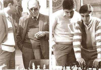 Los ajedrecistas Mariné y García Orús - Travesset II y Miralles