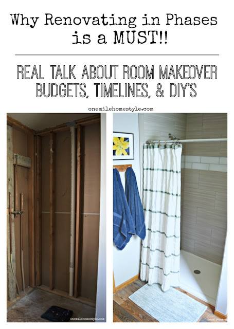 Why renovating is phases is a must!! Real talk about project budget, timelines and DIYs
