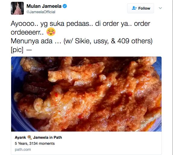 Mulan Jameela Jualan