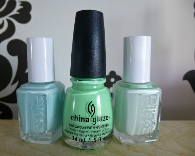 Mint Nail Polishes