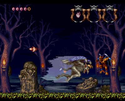 Demon's Crest+console+super nintedo+game+portable+art+flyer+videojuego+descargar gratis