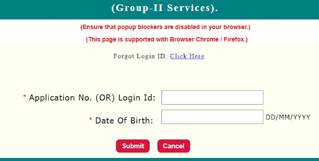 TNPSC Group 2 Exam 2018 (CCSE-II) Interview Posts: Admit Card Released