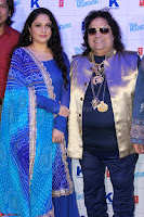 Gracy Singh and Bappi Lahiri   Blue Mountain Music Launch IMG 0655.JPG