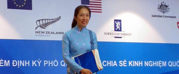 Vietnamese blogger 'Mother Mushroom' fears arrest for Facebook activity