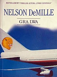 okładka powieści Gra Lwa Nelsona DeMille