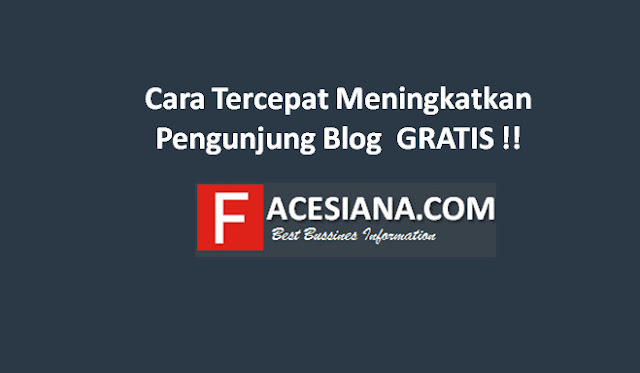 Cara Tercepat Meningkatkan Viewer Blog/ Website GRATIS