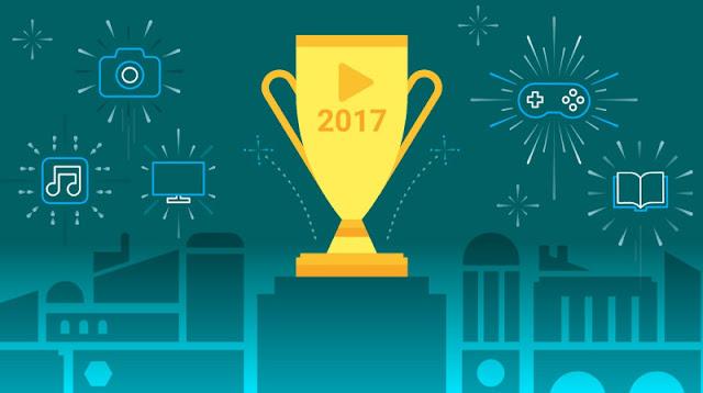 O Google Play anunciou hoje a sua lista dos mais populares aplicativos para dispositivos móveis, jogos, música, filmes, programas de TV e outros conteúdos para 2017.