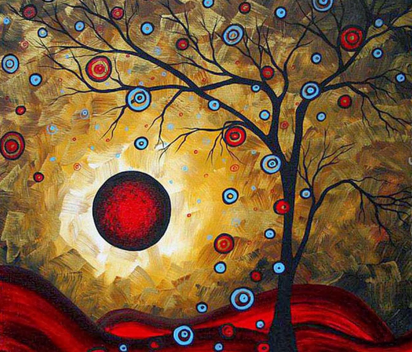 Cuadros modernos pinturas y dibujos abstractos for Fotos de cuadros abstractos al oleo