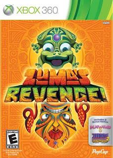 Zuma's Revenge (X-BOX360) 2011
