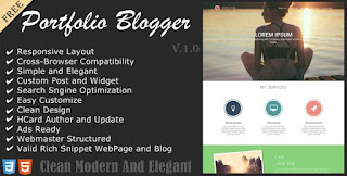 graphista blogger template responsive