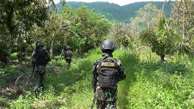 Aparat Keamanan Baku Tembak Dengan Kelompok Sipil Bersenjata di Poso
