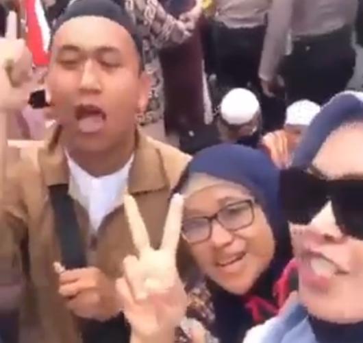 Wanita di Video Ancaman 'Penggal Jokowi' Juga Dipolisikan