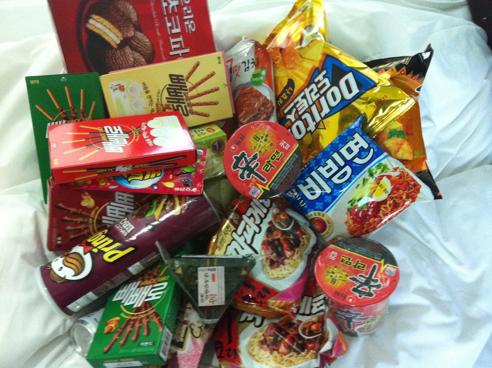 Korean Snack Food Market