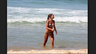 Letícia Wiermann Disfruta Playa Brasil