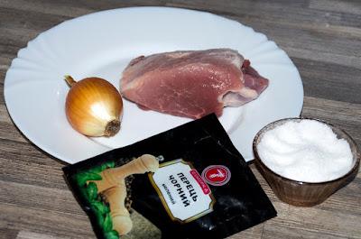 інгредієнти для сушіння м'яса