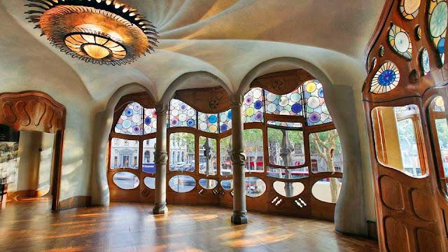 Casa Milá em Barcelona