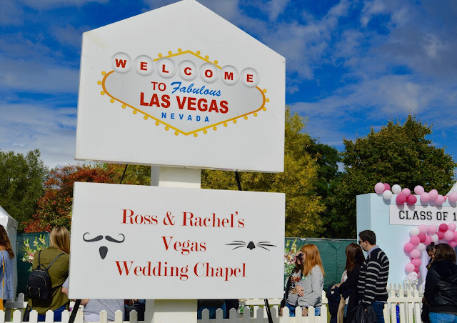 Friends Fest Ross and Rachel's vegas wedding chapel